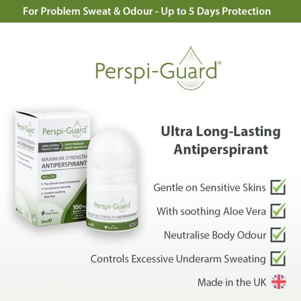 Perspi-Guard Roll-On Maximum Strength Antiperspirant on Antiperspirant & Deodorant Company UK