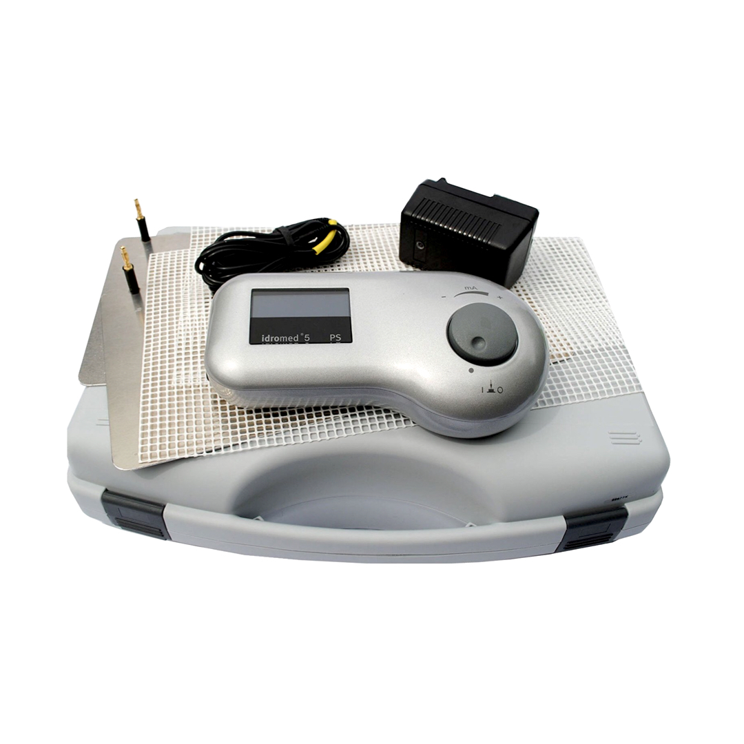 Idromed® 5PS Pulsed Current Iontophoresis Machine for Hands & Feet