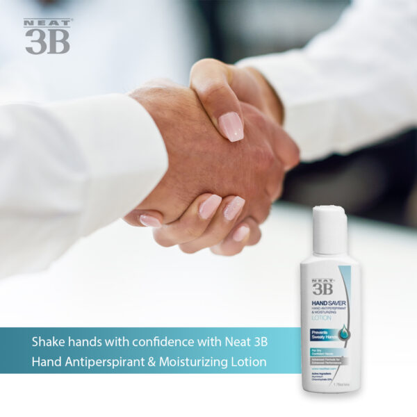 Neat 3B Hand Saver Antiperspirant and Moisturizing Lotion Sold on The Antiperspirant and Deodorant Company Online Shop