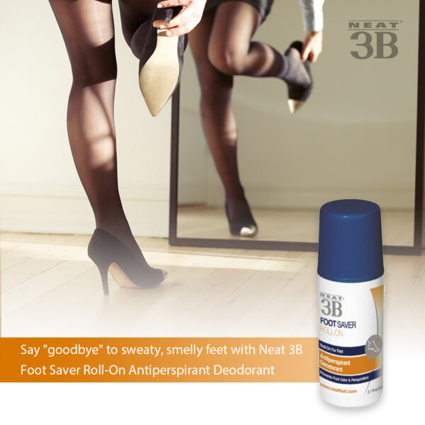 Neat 3B Foot Saver Roll-On on The Antiperspirant and Deodorant Company Online Shop