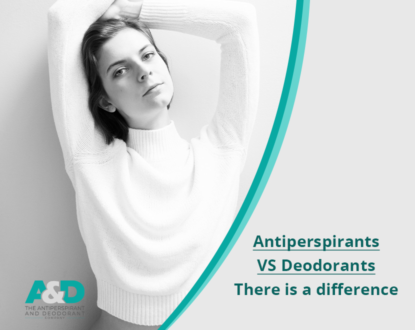 Antiperspirant VS deodorant blog post on A&Dco