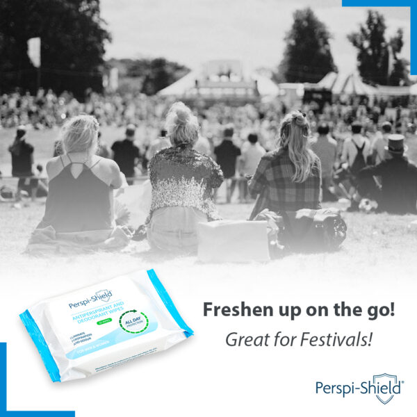 Perspi-Shield Antiperspirant and Deodorant Wipes on Antiperspirant & Deodorant Company UK