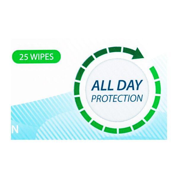 Perspi-Shield Antiperspirant & Deodorant Wipes sold on The Antiperspirant and Deodorant Company Online Shop
