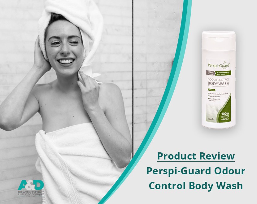 Perspi-Guard Odour Control Body Wash - product review